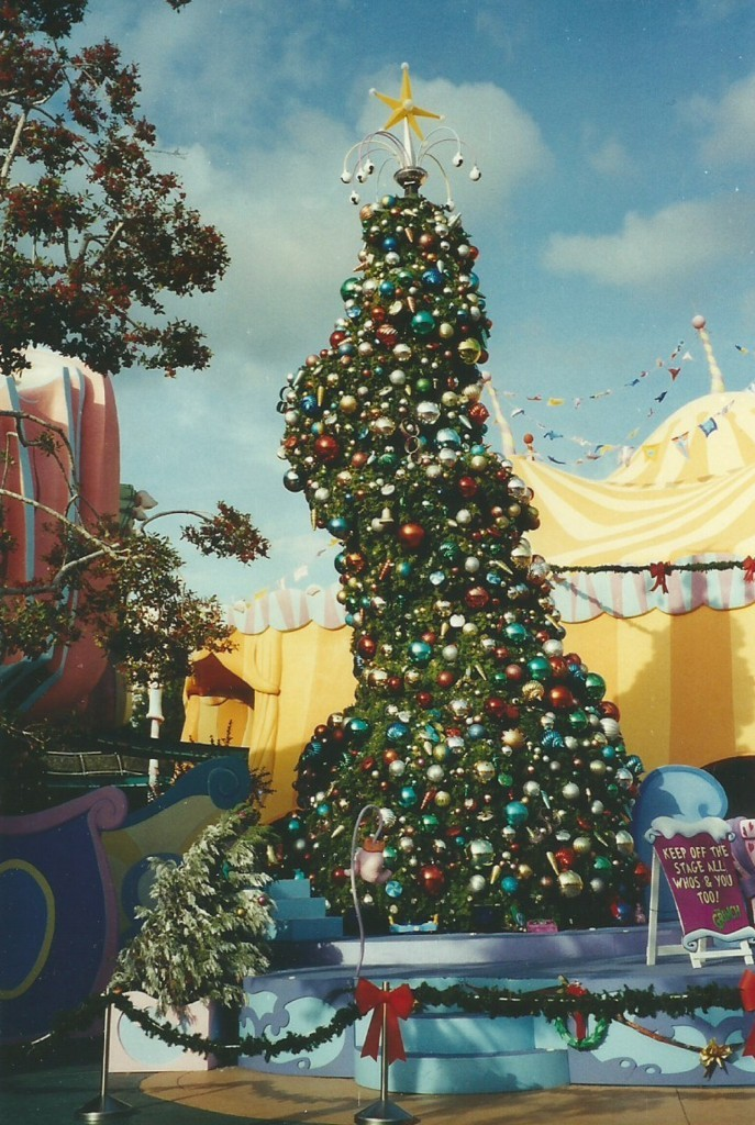 Grinchmas Stage & Tree in 2003