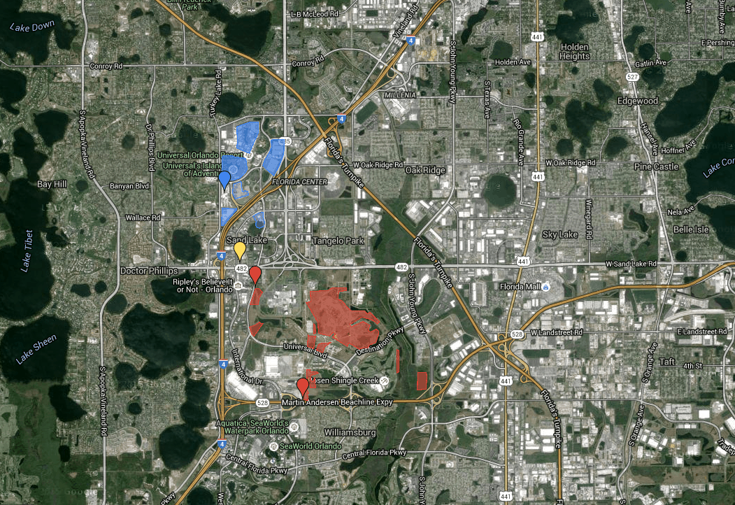 Universal Orlando set to secure additional 474 acres of land