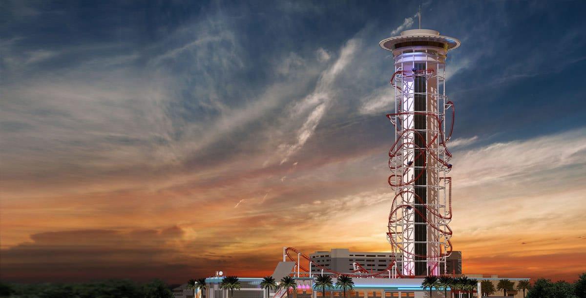 SkyPlex, world's tallest roller coaster, approved