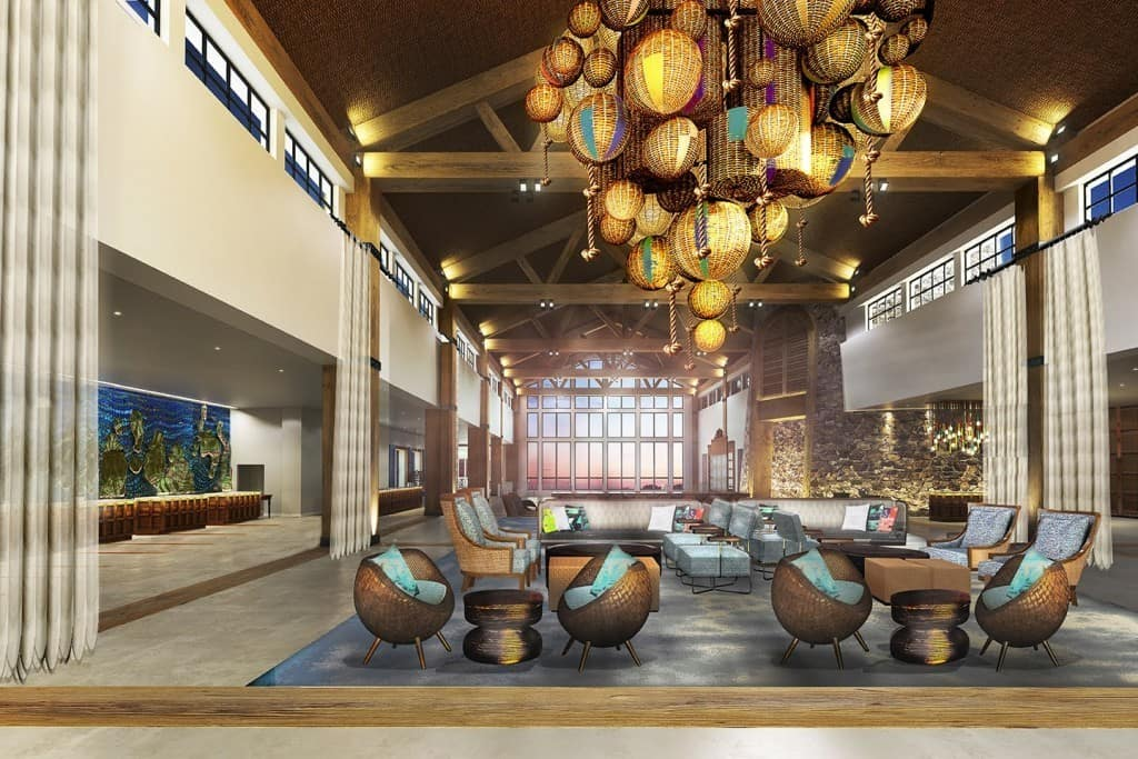 Sapphire Falls Resort's lobby - Rumor Round-Up for January 22, 2016