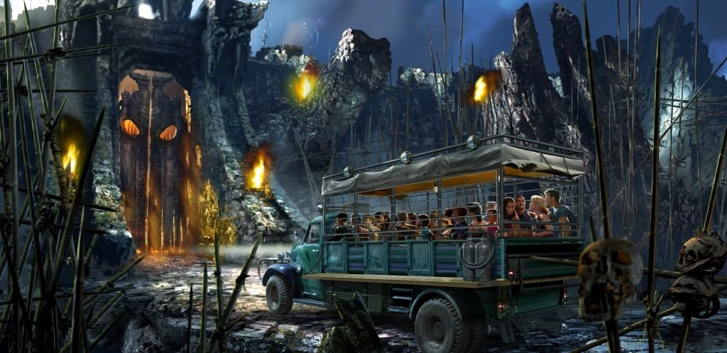 Skull Island: Reign of Kong ride vehicle