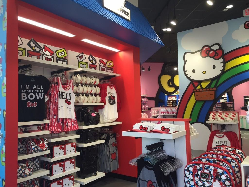 Hello Kitty store at Universal Orlando