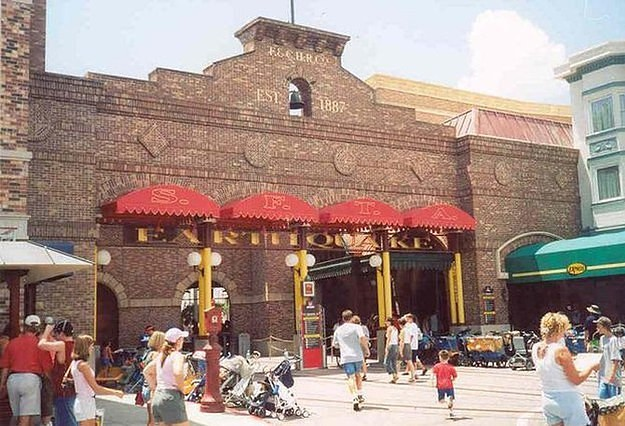 Earthquake: The Big One - Universal Studios Florida in 1990