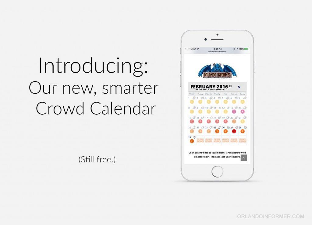 The new, smarter OI Crowd Calendar