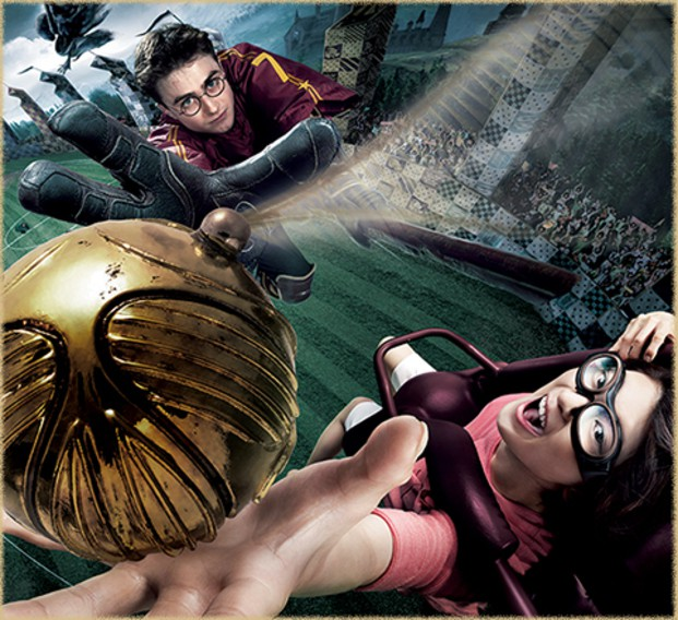 Harry Potter and the Forbidden Journey 3D at Universal Studios Japan
