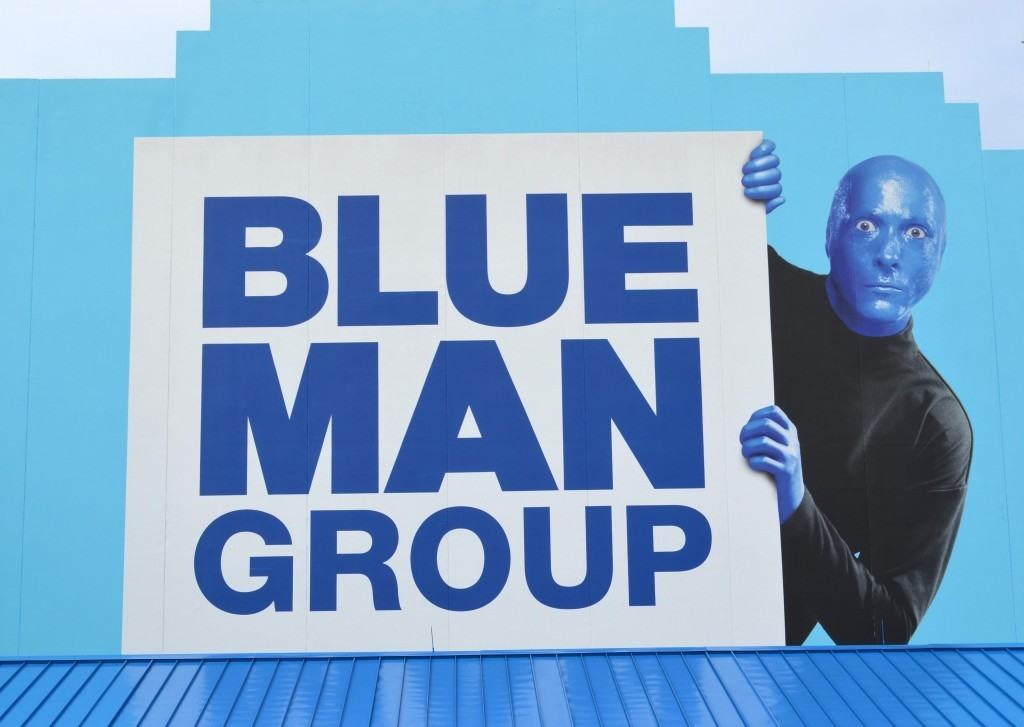 Blue Man Group at Universal Citywalk