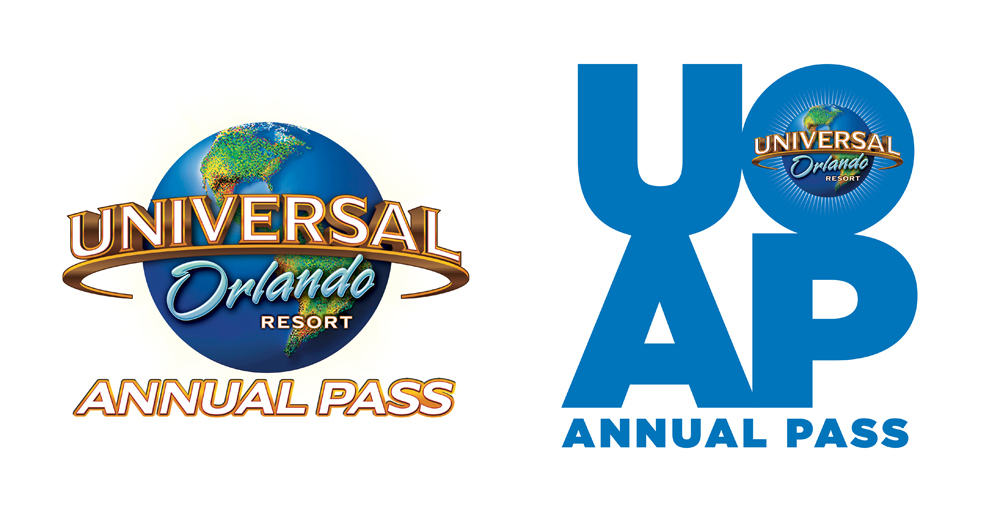 Comparing the old and new Universal Orlando Annual Pass branding