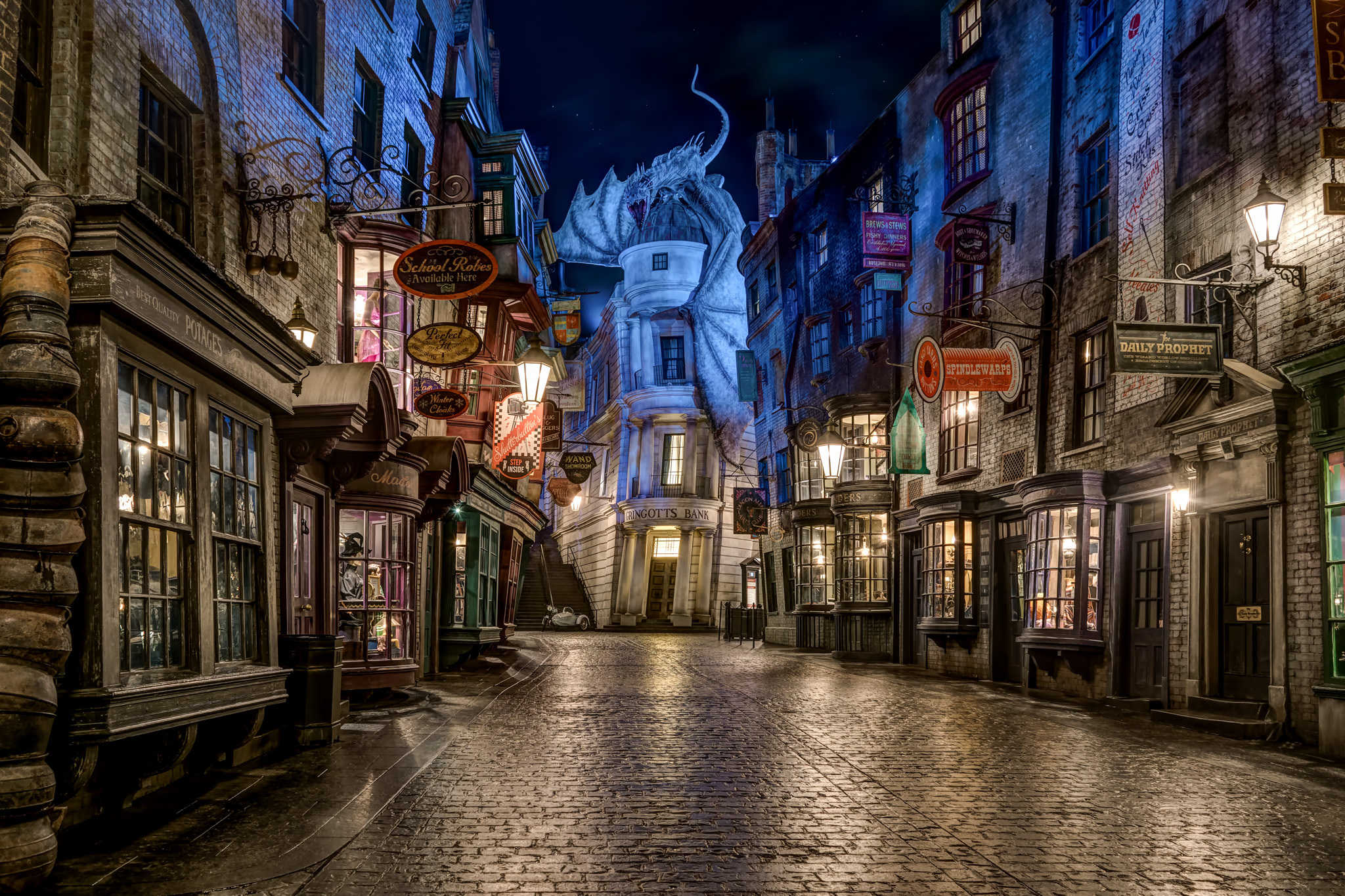 Why Diagon Alley can never be repeated