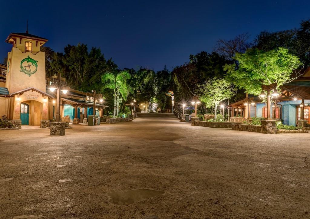 Hub at Disney's Animal Kingdom