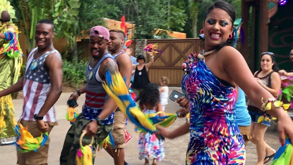 Discovery Island Carnivale at Disney's Animal Kingdom