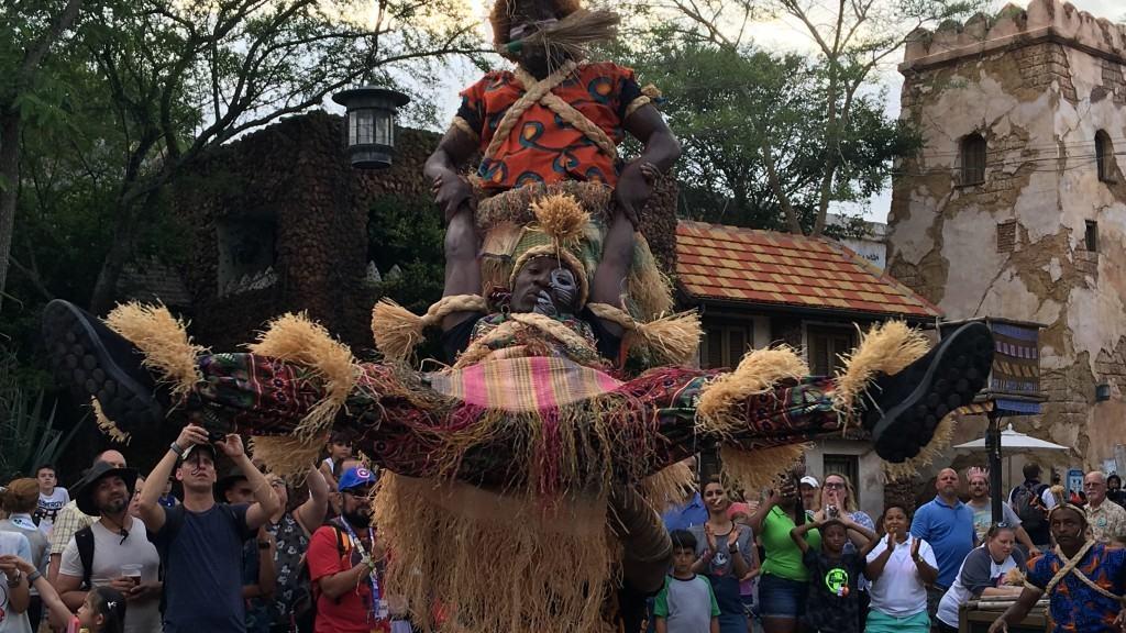 Harambe Village Acrobats at Disney's Animal Kingdom