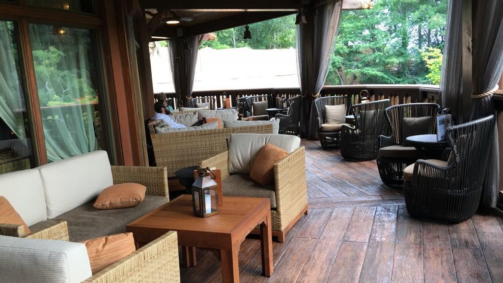 Nomad Lounge - outdoor seatingatDisney's Animal Kingdom