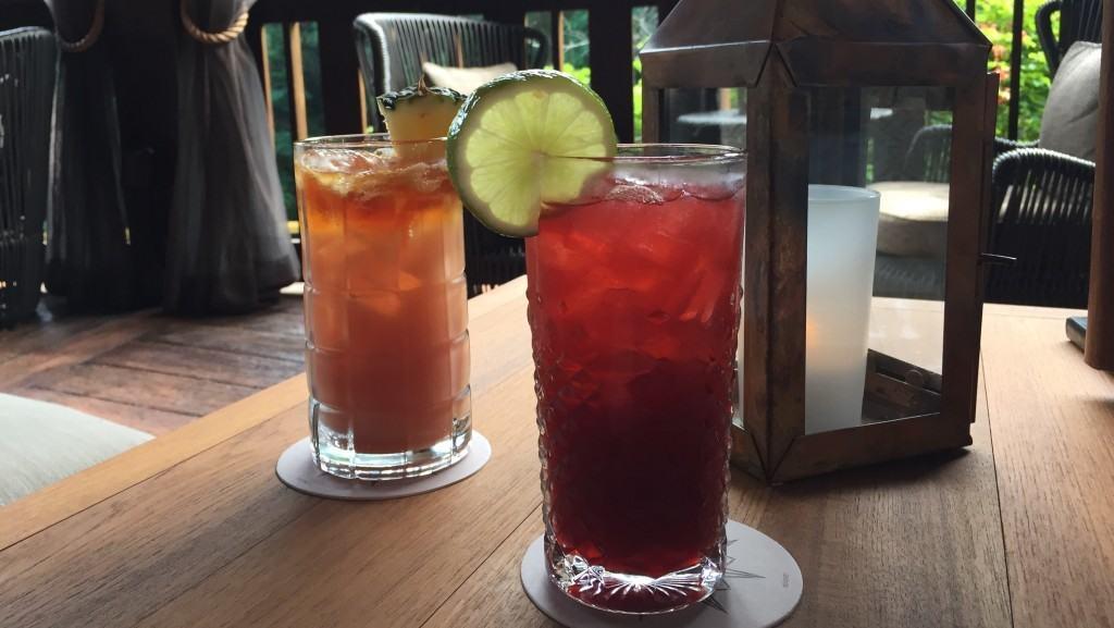 Nomad Lounge - Hibiscus Henna & Lamu Libation drinks