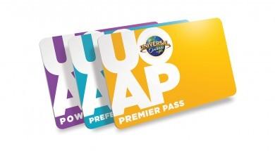 Universal Orlando Resort new plastic Annual Passes