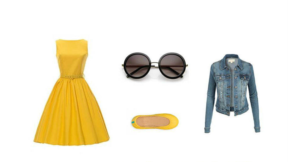 Despicable Me Minion theme park inspired look.