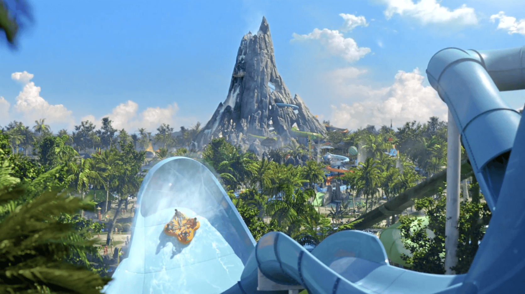 Universal's Volcano Bay story and attractions REVEALED