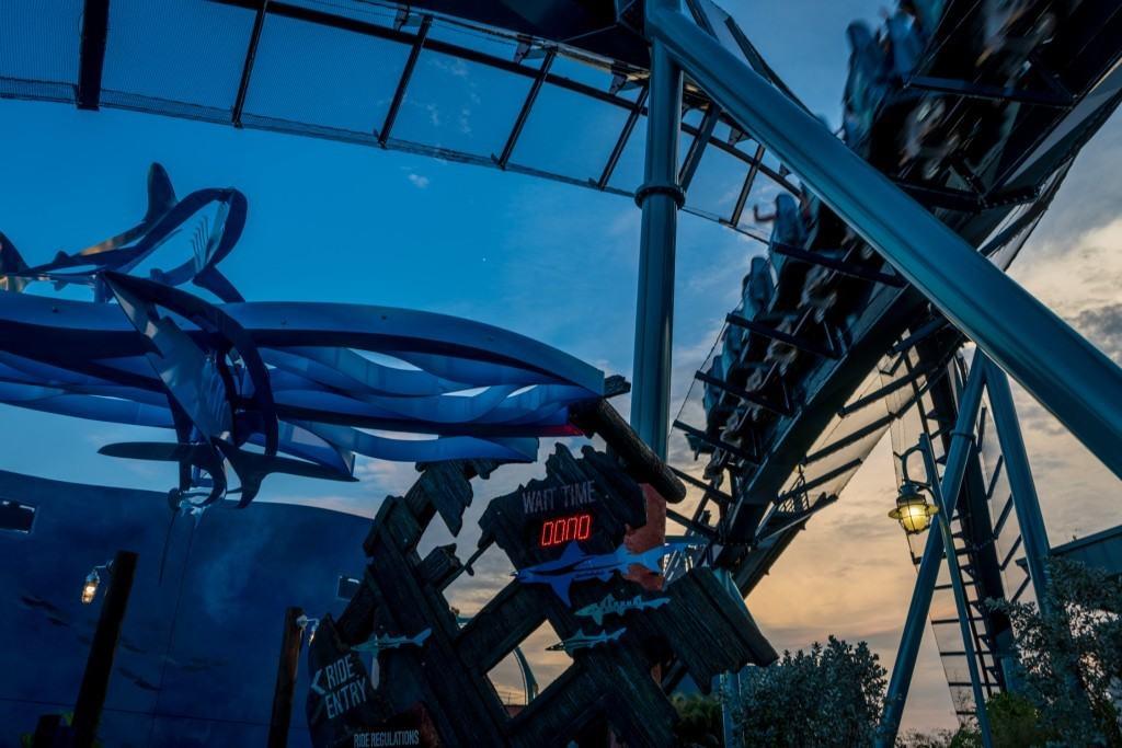 Mako now open at SeaWorld Orlando