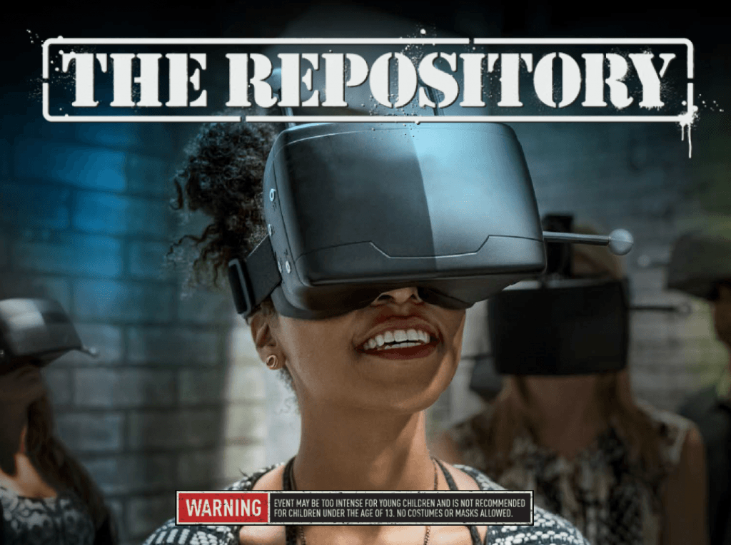 The Repository Virtual Reality Experience at Universal Orlando's Halloween Horror Nights 26