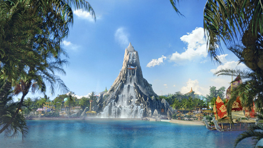 Welcome to Lava Lagoon, the original Volcano Bay