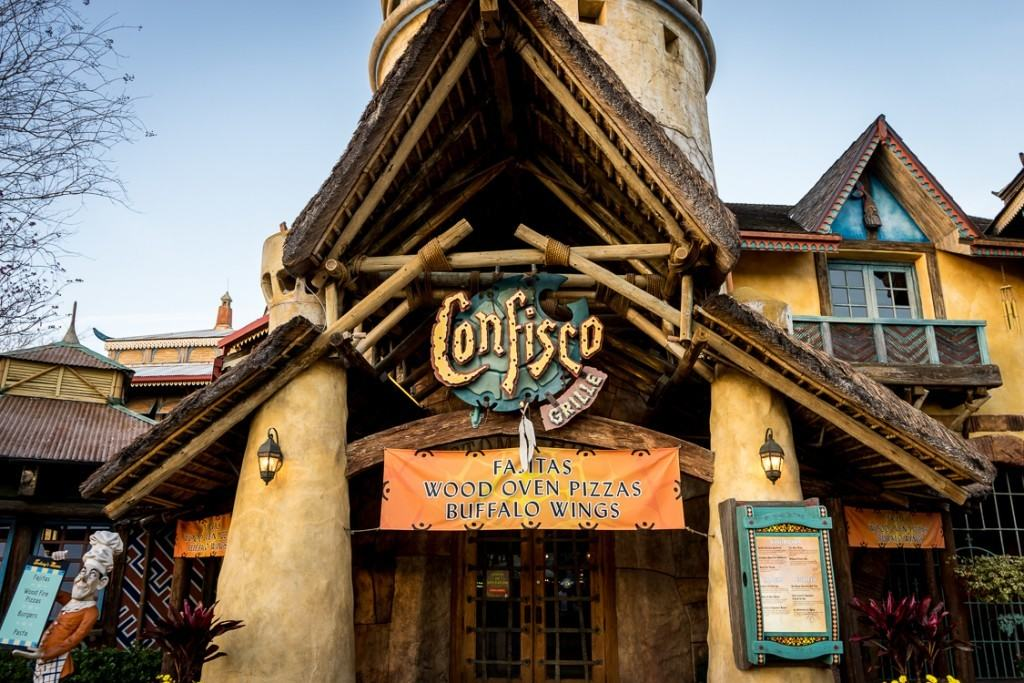 Confisco Grille at Universal's Islands of Adventure