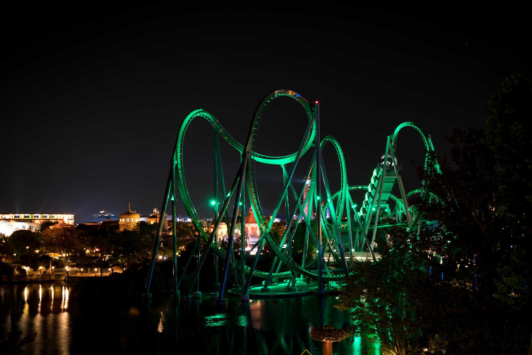 Incredible Hulk Coaster begins to roar back to life