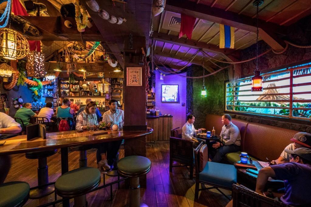 Trader Sam's Grog Grotto at Disney's Polynesian Village Resort