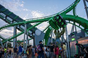 New Incredible Hulk Coaster at Universal's Islands of Adventure