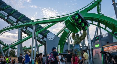 New Incredible Hulk Coaster at Universal's Islands of Adventure