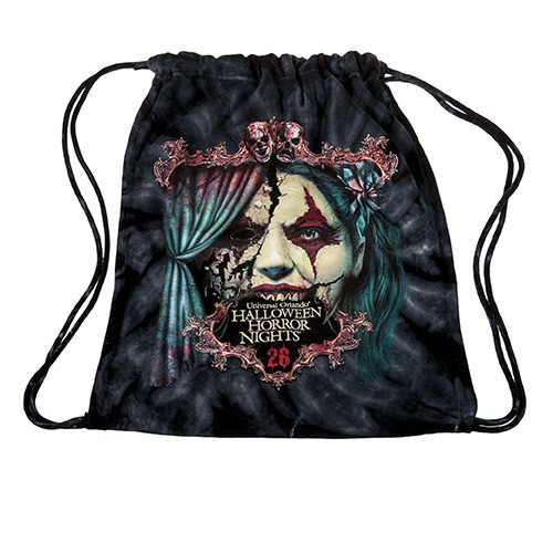 Halloween Horror Nights 26 Chance Drawstring Bag ($24.95)