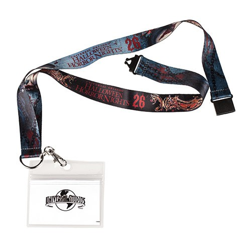 Halloween Horror Nights 26 Chance Lanyard ($9.95)