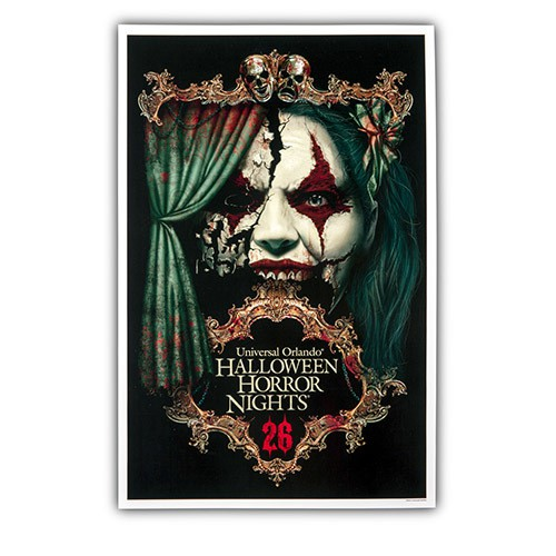 Halloween Horror Nights 26 Chance Poster ($15.95)