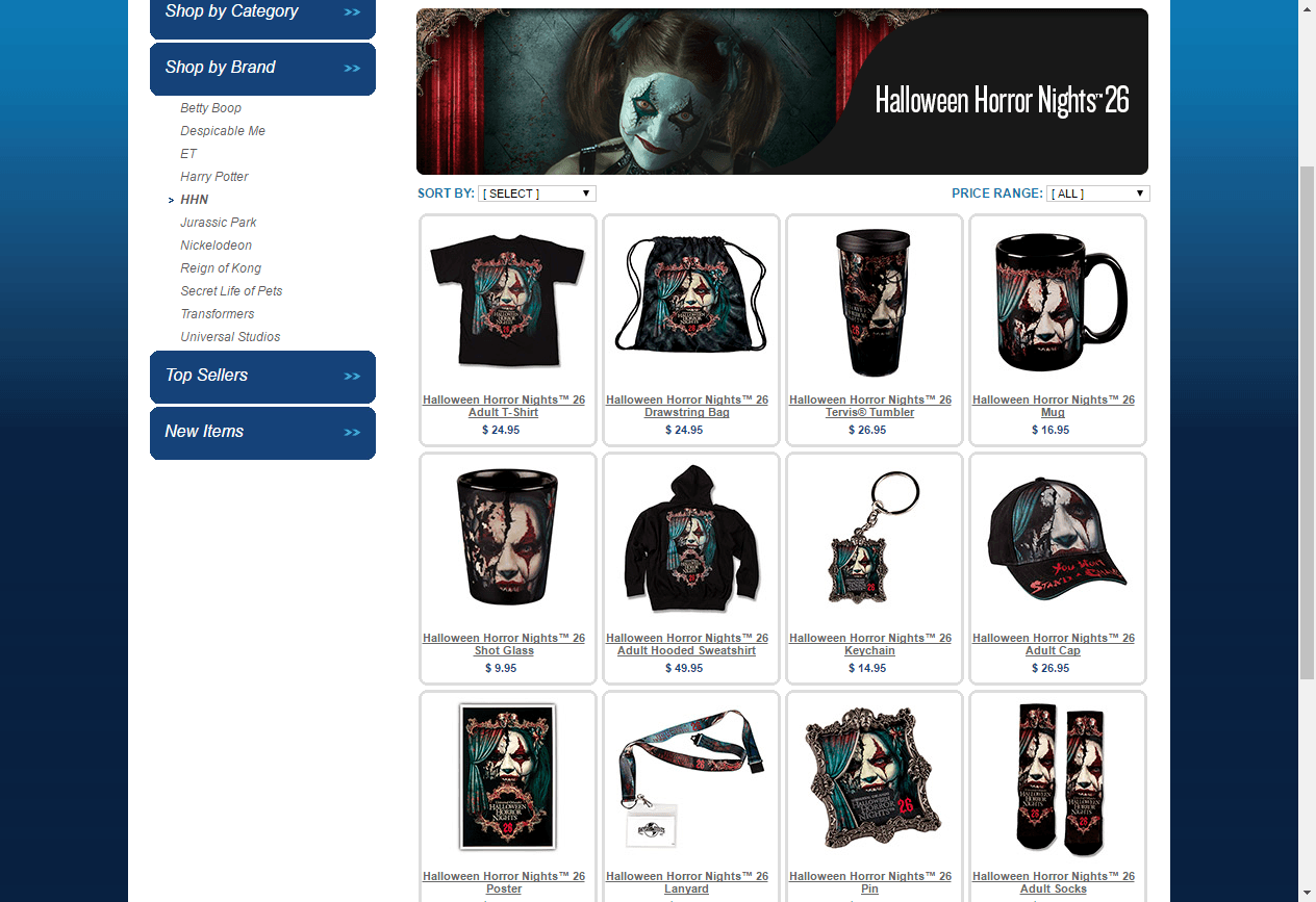 Halloween Horror Nights 26 Merch Sneak Peek