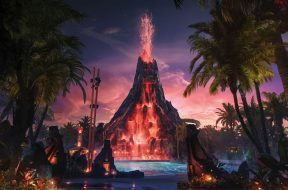 Krakatau at Universal's Volcano Bay