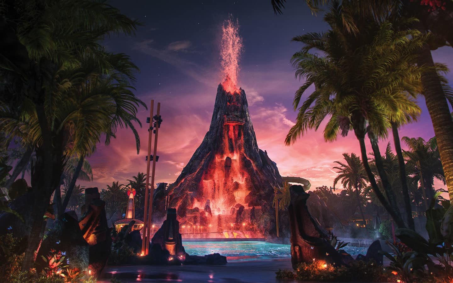 Inside look at Universal's Volcano Bay