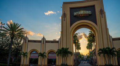 Universal Studios Florida gates