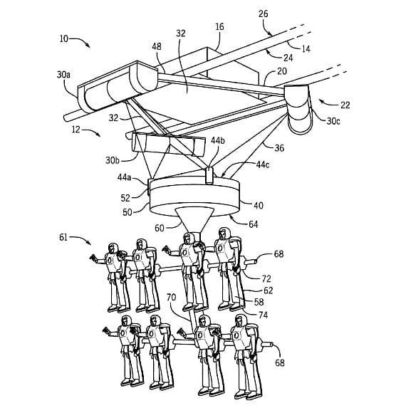 """Univeral's patent for """"simulator ride"""""""
