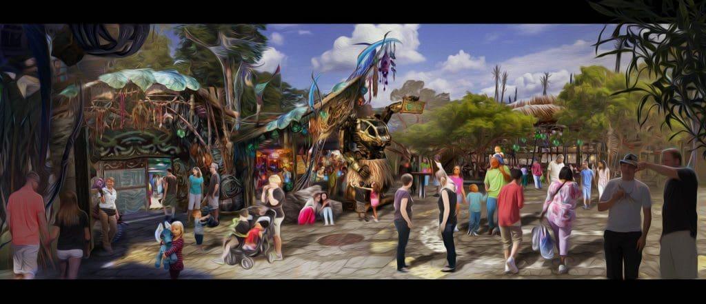 Pongu Pongu drink cart at Disney's Pandora - The World of Avatar