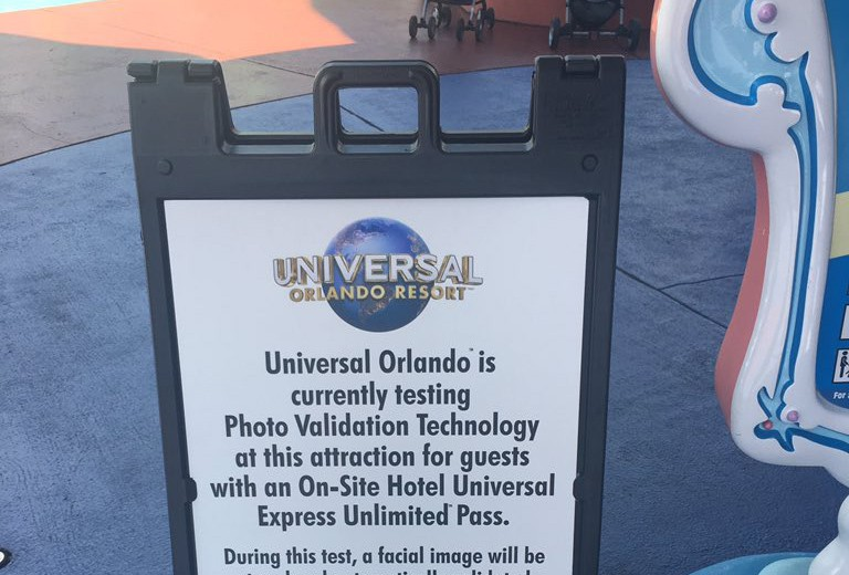 Universal testing Facial Recognition for Universal Express