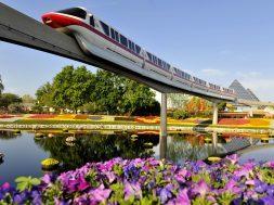 Monorail at Walt Disney World Resort