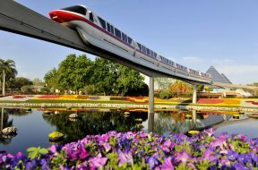 Monorail at Walt Disney World Resort