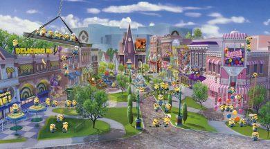 Minion Park in Universal Studios Japan