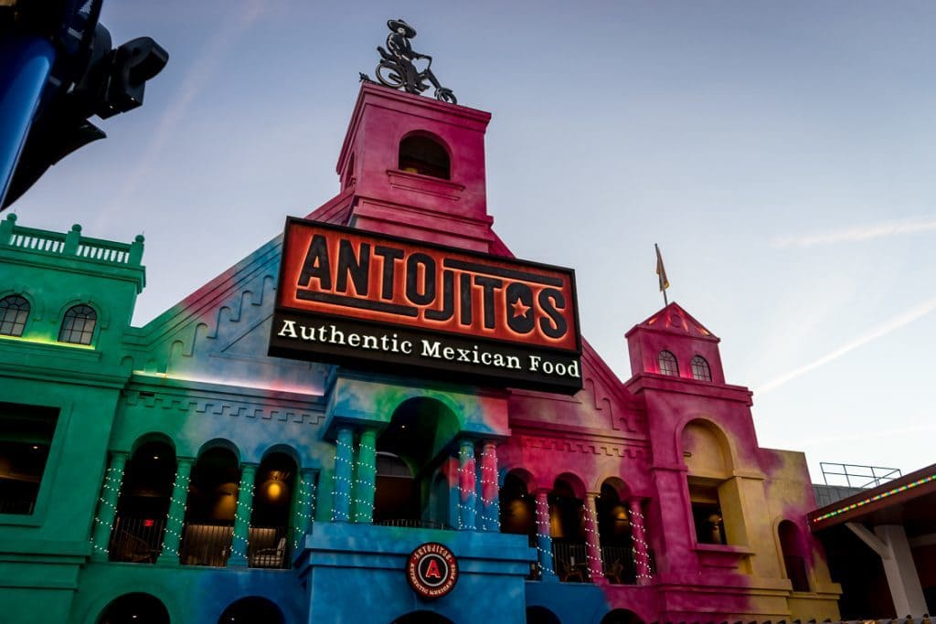 Antojitos Authentic Mexican Food at Universal CityWalk