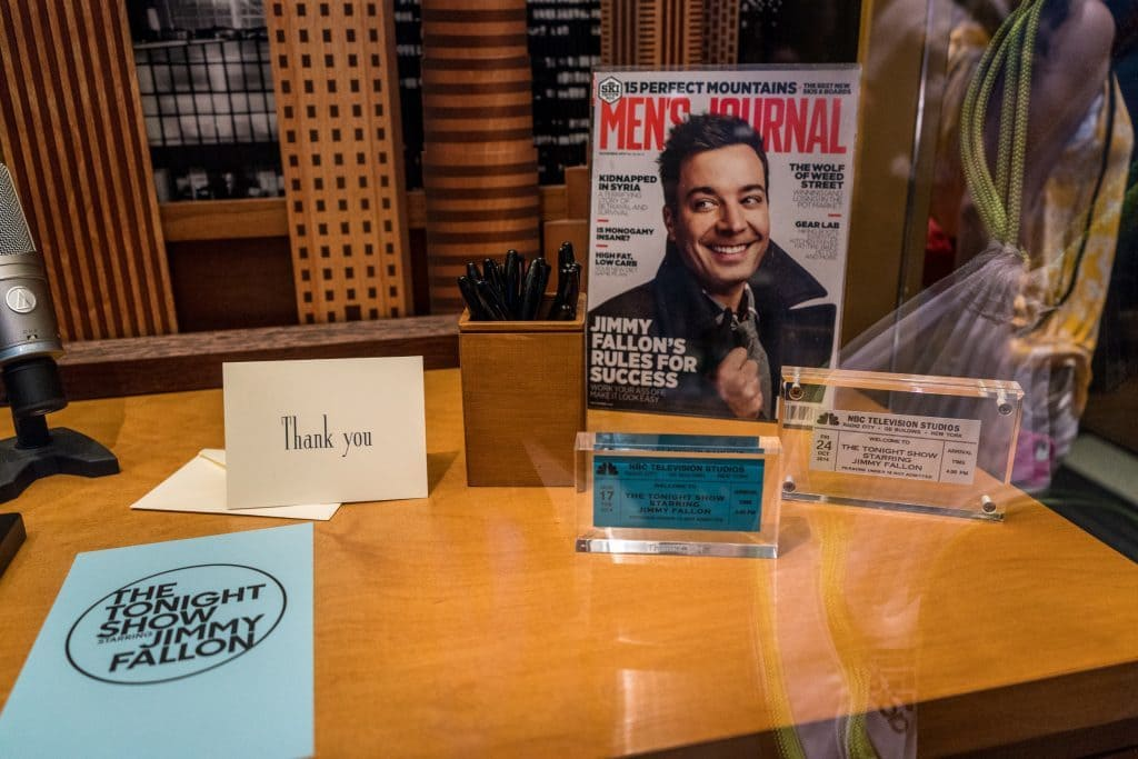 Race Through New York Starring Jimmy Fallon museum area