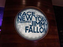 Race Through New York Starring Jimmy Fallon at Universal Studios Florida.