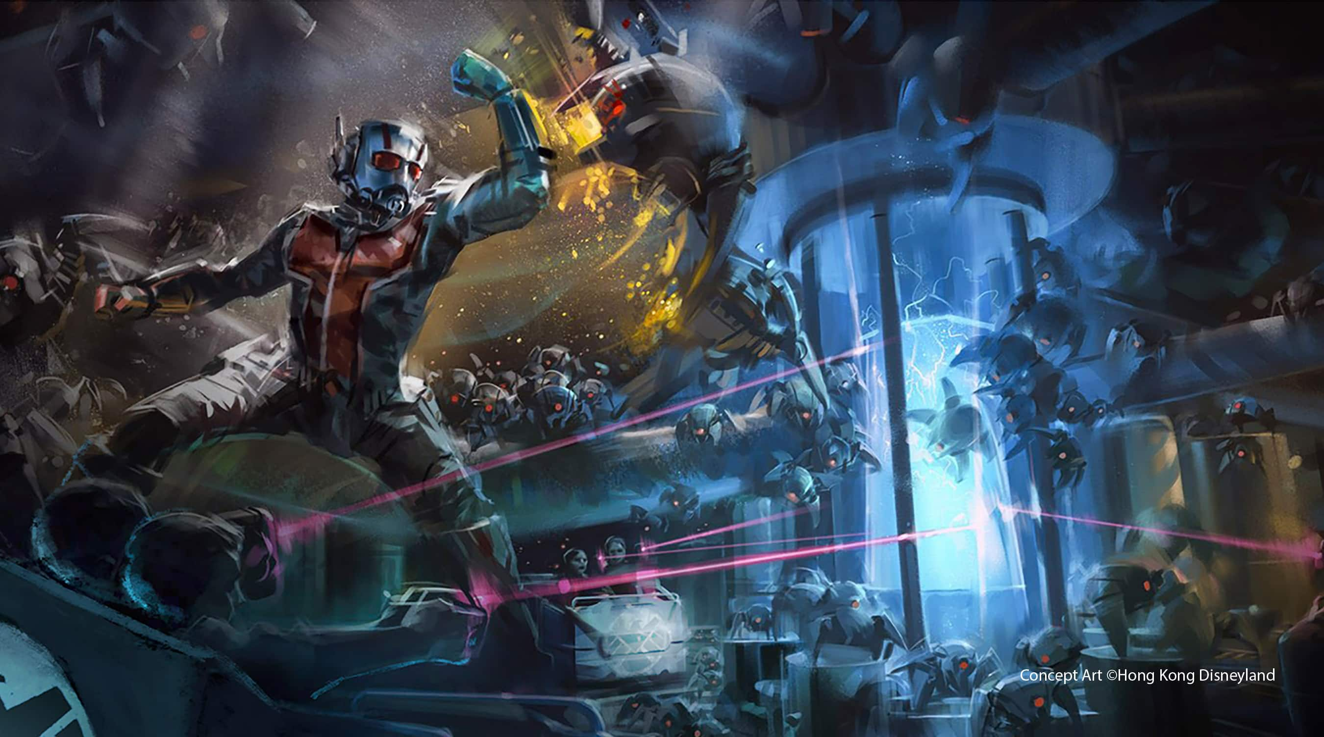 Disney unveils a first-ever Ant-Man ride