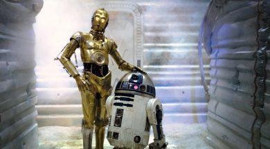 C-3PO and R2-D2 in Disney's Star Wars