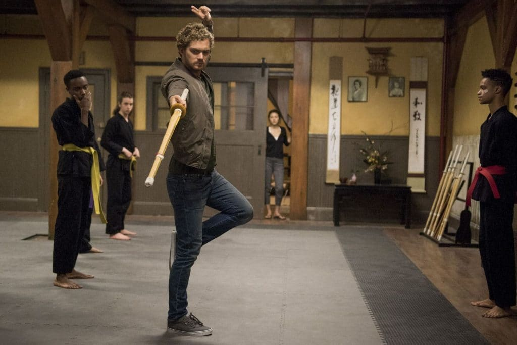 Danny Rand and Colleen Wing in Netflix's Iron Fist