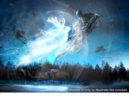Dementors will fly along Hogwarts Castle in this new nighttime show