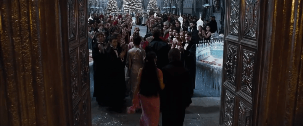 Waltz scene from Harry Potter and the Goblet of Fire
