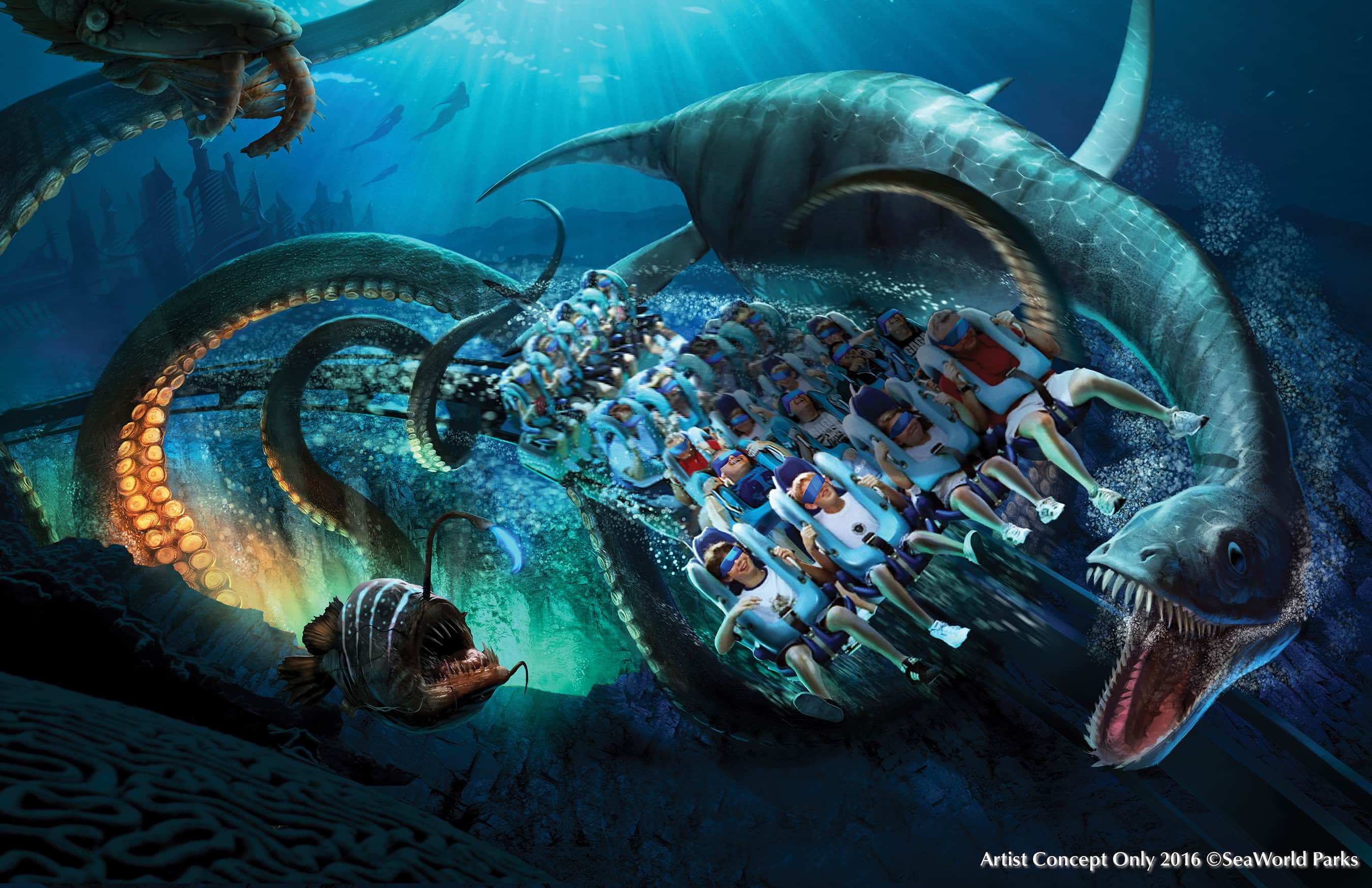 SeaWorld is looking down – but not out